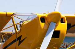 Śmieszny samolot Fotografia Royalty Free