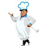Śmieszny szef kuchni Fotografia Royalty Free