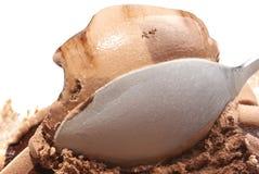 śmietanka czekoladowy lód Obrazy Royalty Free