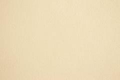 Śmietanka textured ściana Obrazy Royalty Free