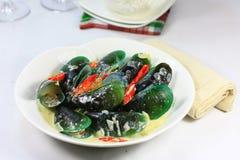Śmietankowy mussle Obraz Stock