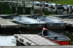 Mietboote lizenzfreie stockfotografie