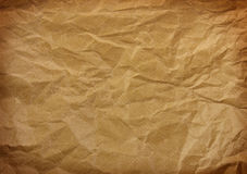 Geknittertes Papier Stockbilder