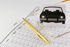 Mieten der Autozeitdauer lizenzfreies stockbild