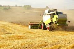 Mietitrice di agricoltura Fotografie Stock Libere da Diritti