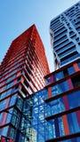 Mietwohnungen Kruisplein in Rotterdam stockbilder