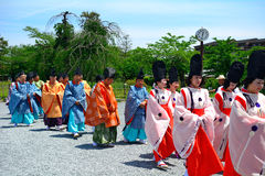 Mifune Festival, Kyoto, Japan Stock Photo