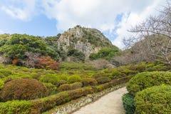 Mifuneyama Rakuen garden in Saga, northern Kyushu, Japan Stock Photography