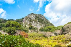 Mifuneyamatuinen in Takeo, Saga, Japan royalty-vrije stock afbeeldingen