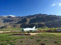 MIG航空器- Kargil战争纪念建筑, Dras 免版税库存照片