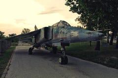 MIG-23 ΔΙΣΕΚΑΤΟΜΜΥΡΙΟ Στοκ εικόνα με δικαίωμα ελεύθερης χρήσης
