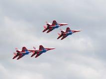 MiG-29 κύψελλοα Στοκ φωτογραφία με δικαίωμα ελεύθερης χρήσης