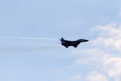 MiG-29 υπομόχλιο στοκ φωτογραφία