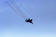MiG-29 υπομόχλιο στοκ εικόνα με δικαίωμα ελεύθερης χρήσης