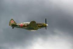 Mig3 -老苏联战斗机从第二次世界大战 免版税库存图片