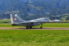 MiG-29A images stock