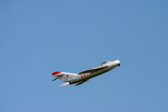 Mig 17 Afterburner Royalty Free Stock Photo