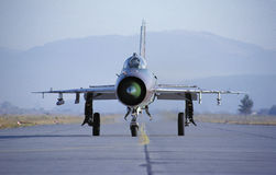 MiG-21 Royalty Free Stock Photo