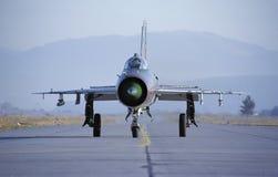 MiG-21 Foto de Stock Royalty Free