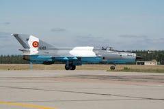 MiG-21 Fishbed Stockfotos
