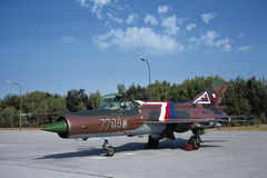 MiG-21MF Stock Photo
