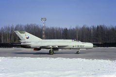 MiG-21MF Stock Images