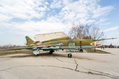MIG 23 BN Flogger H Jet Fighter Stock Photography