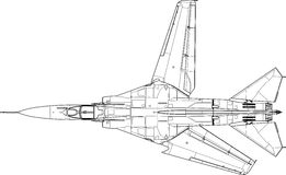 Mig 23 mf Stock Photo
