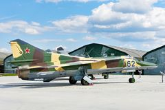 Free MiG-27 Variable Geometry Ground Attack Aircraft Stock Image - 160816351