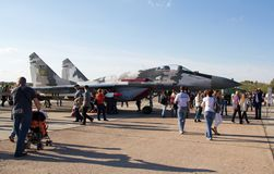 Mig-29 Royalty Free Stock Images