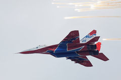 Mig-29 fighter Stock Photography