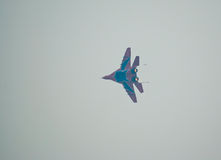 MiG-29 in flight Stock Image