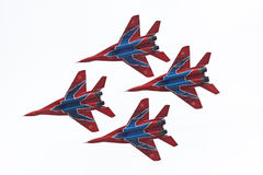 Mig-29 group Stock Photos