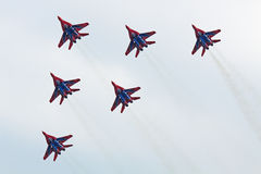 Mig-29 group Royalty Free Stock Images