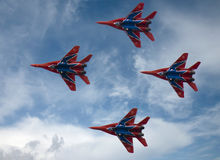 MIG-29 Interceptors 1 Royalty Free Stock Photography