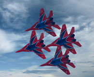 MIG-29 Interceptors 2 Royalty Free Stock Photos