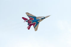 MiG-29 jet from Strizhi display team Stock Image