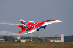 MiG-29 OVT. Stock Photos