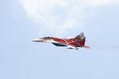 MIG-29 OVT Images stock