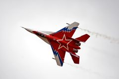 MIG-29 Ovt Stock Photography
