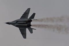 MiG-29 polaco Imágenes de archivo libres de regalías