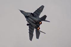 MiG-29 polonais Photographie stock libre de droits