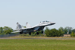 MiG 29 taking off Royalty Free Stock Images
