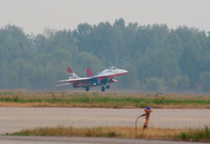 MiG-29 taking off Stock Photos
