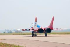 Mig-29 van   Royalty-vrije Stock Foto