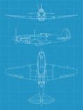 MiG 3 Aiplane Stock Images