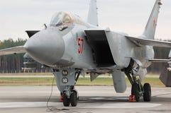 MiG-31 Images libres de droits