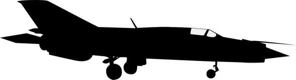 MiG 21 Стоковые Изображения