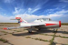 MiG-15 Fotografie Stock Libere da Diritti