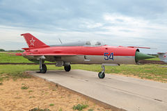 MiG-21 Images stock